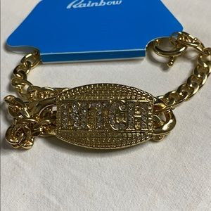 Gold Metal  Necklace Bi@@h Thick Chain